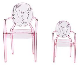 barbie louis ghost chair1 Louis XIV Ghost Armchair