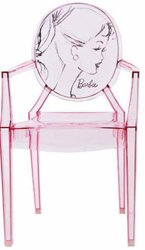 kartell barbie louis ghost chairpng