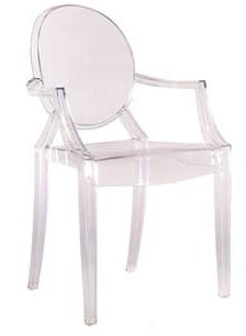 Louis XIV Ghost Armchair